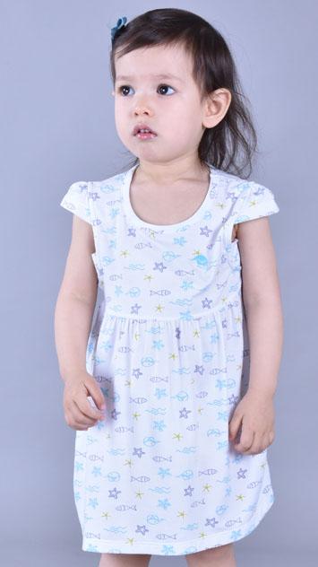 儿童万博X手机下载带护肩睡裙EB010201