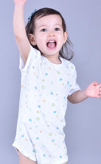 儿童万博X手机下载内衣爬服两件装EB000104