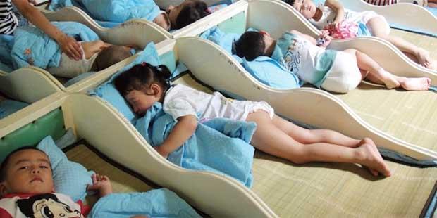 幼儿园午睡